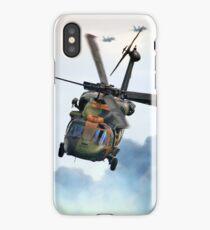 Black Hawk 222  iPhone Case/Skin