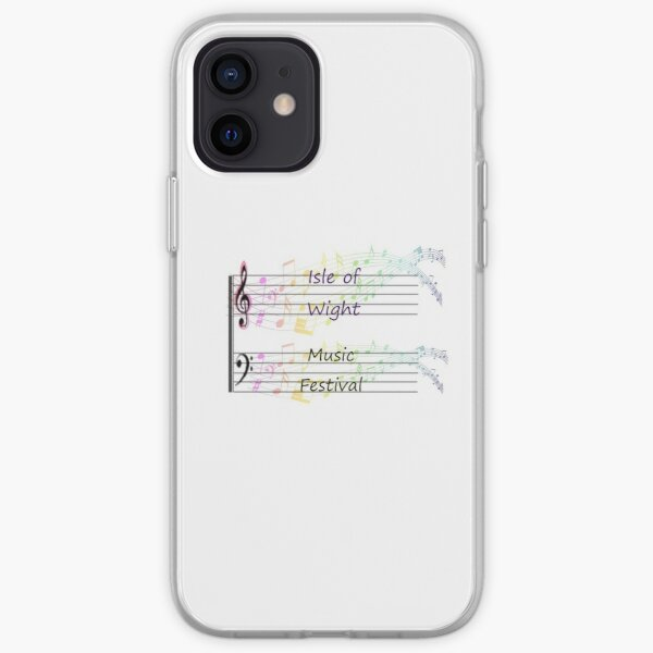 Isle of Wight music festival iPhone Soft Case
