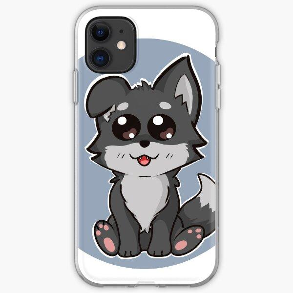 Wolf Puppy Cartoon iPhone Soft Case