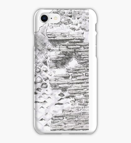 A remain from the Temple of Jupiter (Cumae, Italy) iPhone Case/Skin