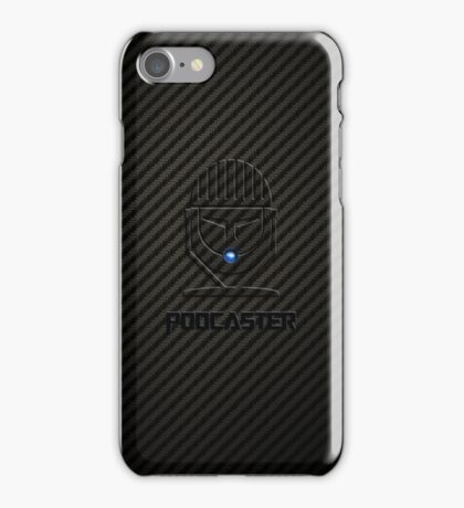 Podcaster Carbon iPhone Case/Skin