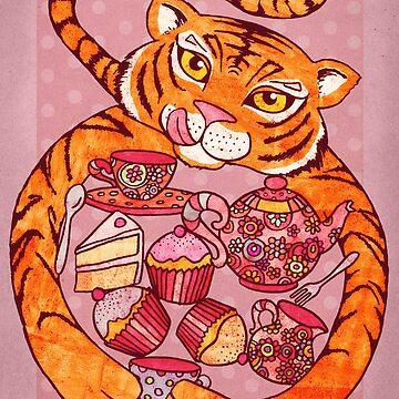 Tiger's Tea Party von micklyn