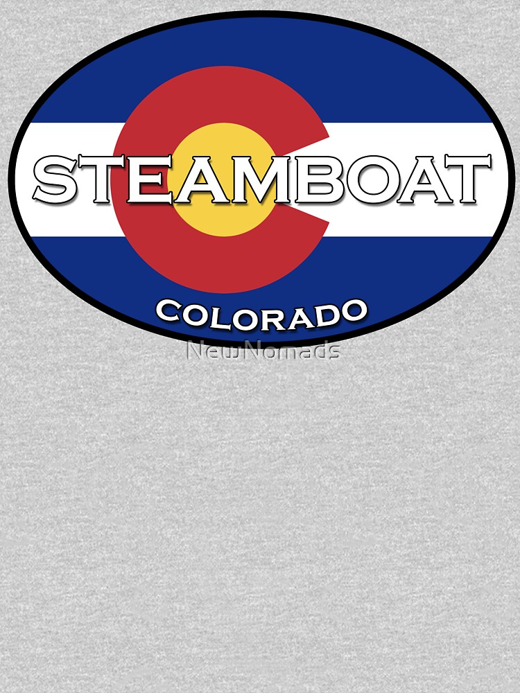 Steamboat Springs Colorado!  State flag design by NewNomads
