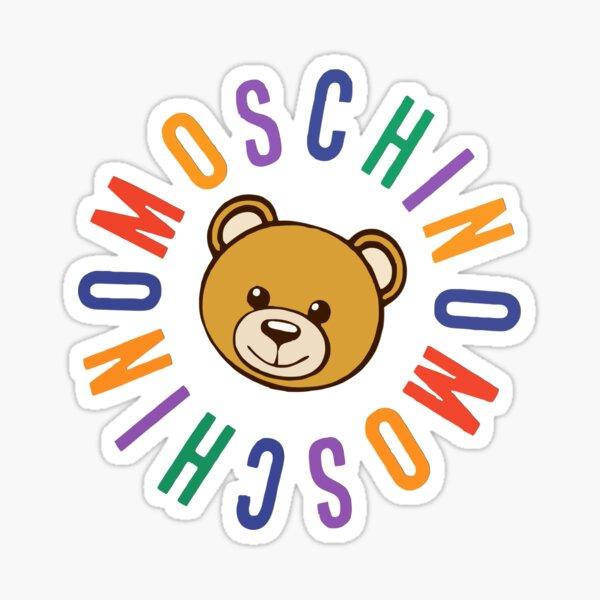 Moschino y oso Pegatina