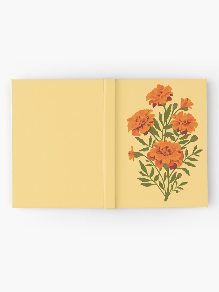 Alternate view of Marigold Flowers Hardcover Journal