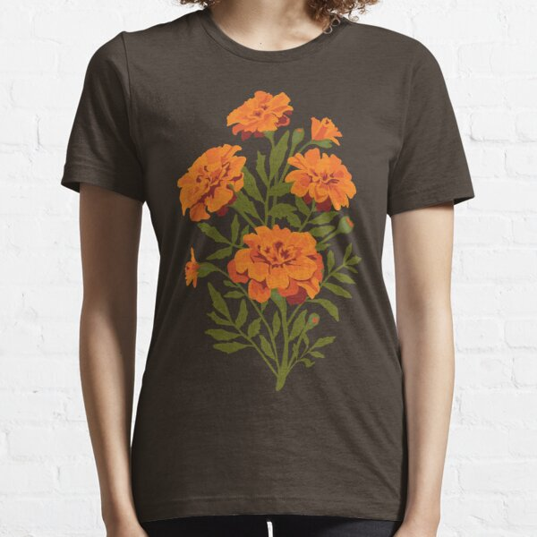 Marigold Flowers Essential T-Shirt