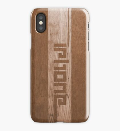 Two-tone Wood Effect iPhone Case