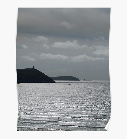 New Polzeath, Cornwall... Poster