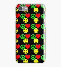 peace, love and happiness i-phone iPhone Case/Skin