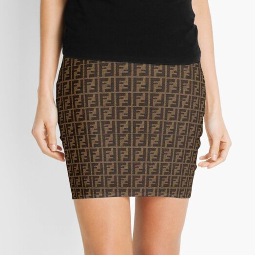 Fendi Collage (3) Mini Skirt