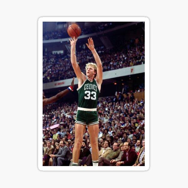 NBA Larry Bird Sticker