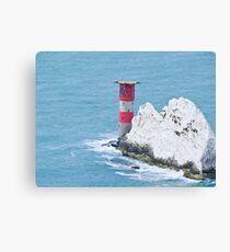 The Needles lighthouse Canvas Print