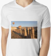 Sunshine Kisses The Balloons, Goreme, Turkey T-Shirt