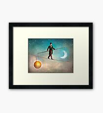 Between Night and Day Framed Print