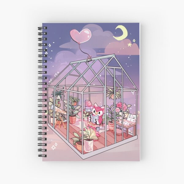 Celeste Spiral Notebook