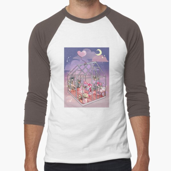 Celeste Baseball ¾ Sleeve T-Shirt