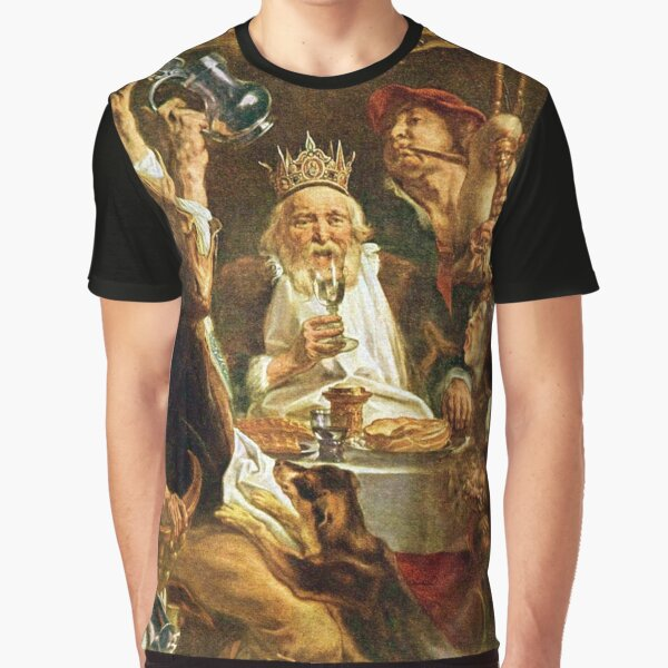 Happy Purim! Esther, King Ahasuerus, Vizier Haman, Mordecai, Torah, drinking feast, Purim, Haman, Esther, Happy Purim, פּוּרִים,  Graphic T-Shirt