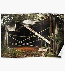 Uwharrie Equipment Shed 2 Poster