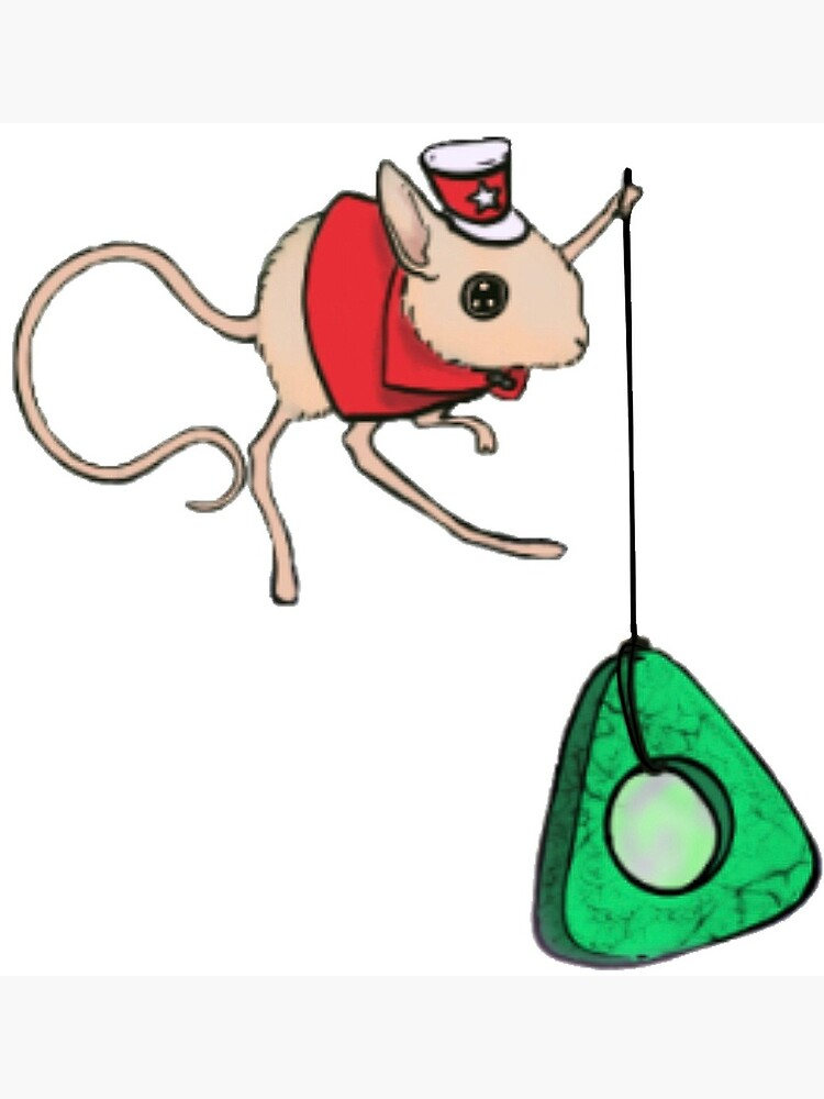 Coraline Circus Mouse Fan Art Postcard By Blacksheepfold Redbubble
