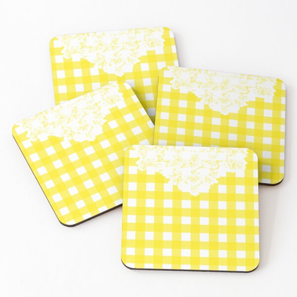 Country Lace - Lemonade Coasters (Set of 4)