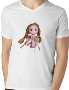 Doll Mens V-Neck T-Shirt