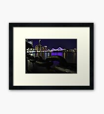 Riverside Stroll (Part 2) Framed Print