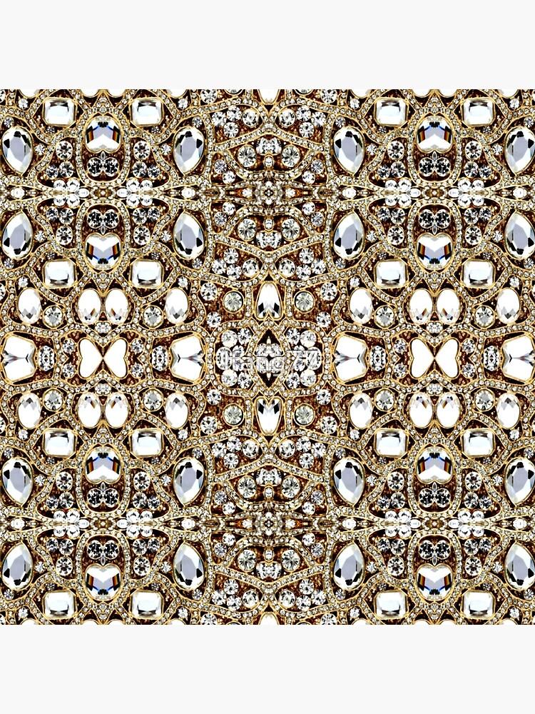 jewelry gemstone silver crystal champagne gold rhinestone by lfang77