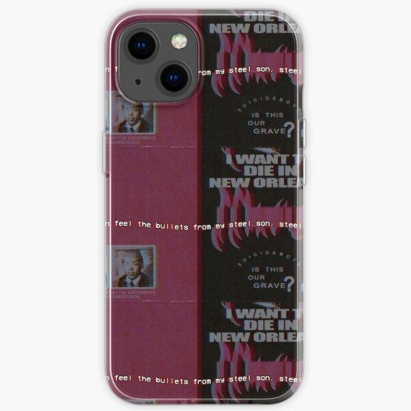 I Wanna Die Here iPhone Soft Case