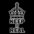 keep it real Iphone 4 by secseone