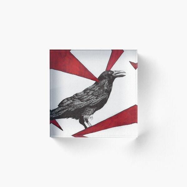 The Raven Acrylic Block
