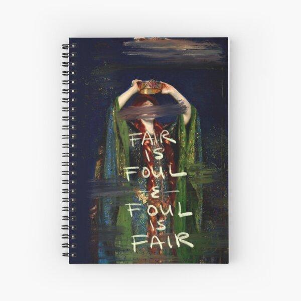 Lady Macbeth Spiral Notebook