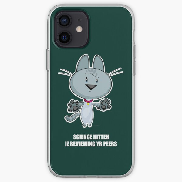 Science Kitteh is reviewing your peers iPhone Soft Case