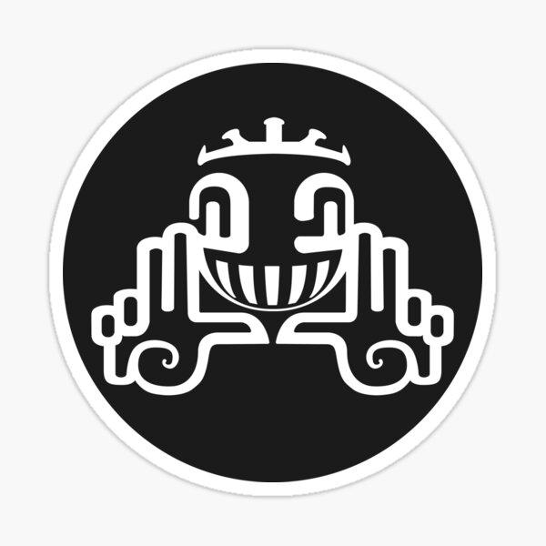 Logo de la tribu en spirale Sticker