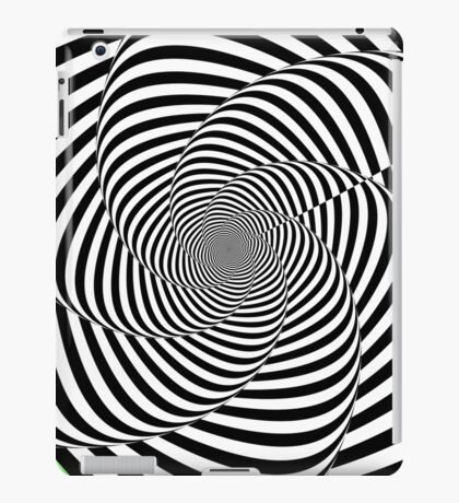 Spirally contrasty thingy thing iPad Case/Skin