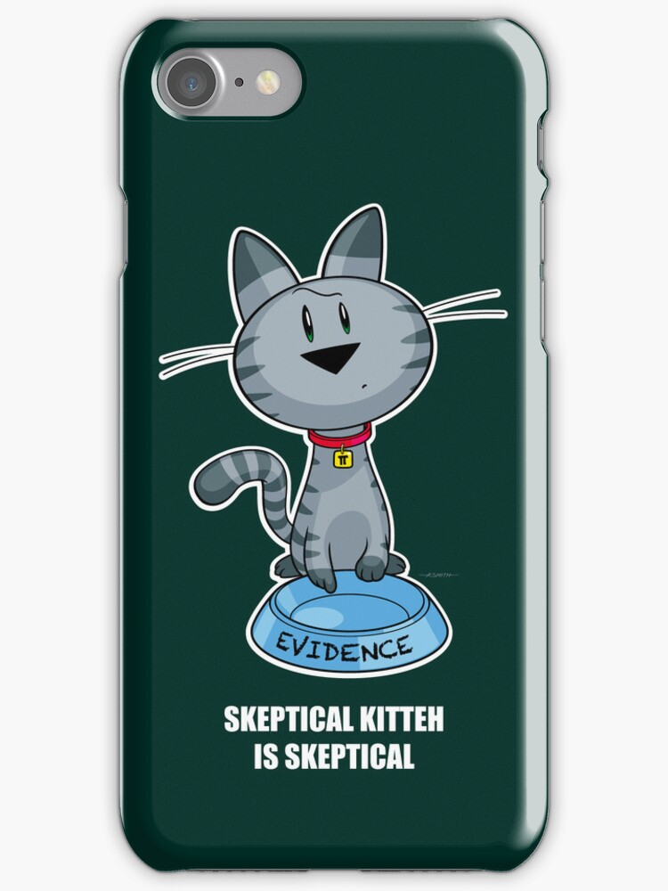 Skeptical Kitteh is Skeptical by drawingbusiness