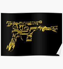 No Match for a Good Blaster - 26 Classic Sci-Fi Guns Poster