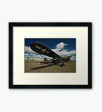 Stinson Sentinel @ Festival Of Flight 2011 Framed Print
