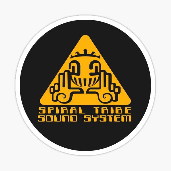 Système audio Spiral Tribe Sticker