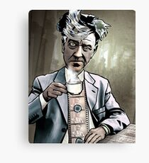 "David Lynch ""Strange Brew"" Canvas Print"