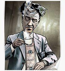 """David Lynch """"Strange Brew"""" Poster"""