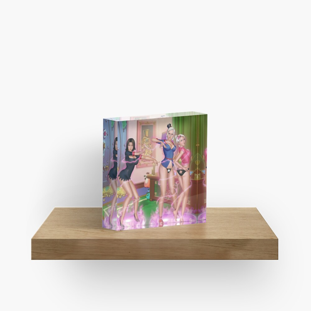 Magic Gone Spicy Acrylic Block