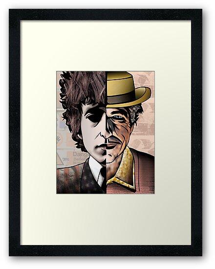 "Bob Dylan ""Man v. Myth"" by Sam Kirk"