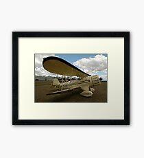 Waco Biplane @ Festival Of Flight 2011 Framed Print
