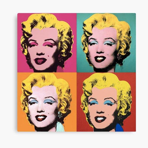 Andy Warhol Marilyn  Canvas Print