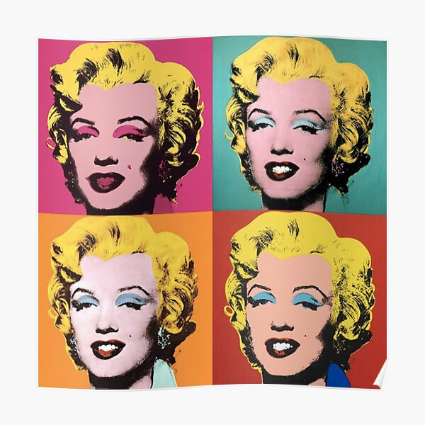 Andy Warhol Marilyn  Poster