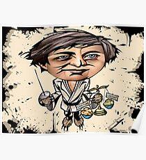 """Eugene Mirman """"En Garde Society!"""" Poster"""