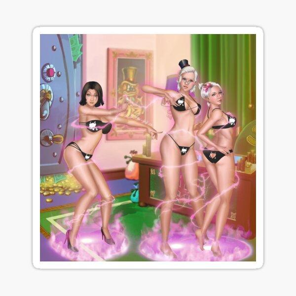 Magic Gone Spicy Bikini Sticker