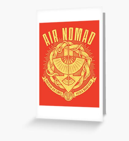 Avatar Air Nomad Greeting Card