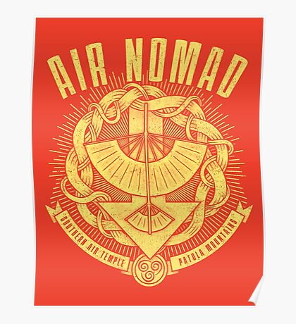 Avatar Air Nomad Poster