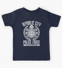 Avatar Republic City Police Force Kids Tee
